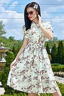 Летнее женское  платье цвет: мята, размер: M, L, XL, XXL