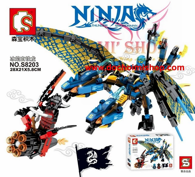 Фигурки ниндзяго Лего lego Ninjago Ninja-go на драконах S8203