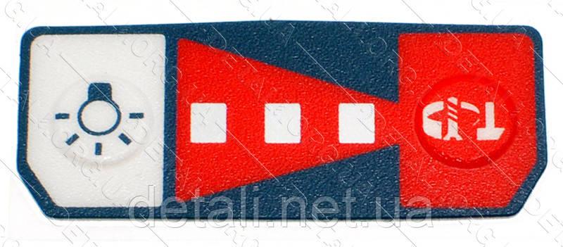 Табличка маркировочная гайковерта Bosch GDX 14,4 / 18 V-EC Bosch 2609133596 оригинал
