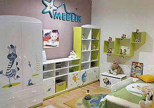 """Мебель детская """"Happy Animals Green"""" Meblik"""
