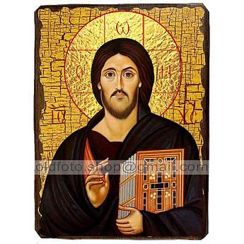 Икона Спас Синайский Спаситель, Господь Вседержитель ,икона на дереве 130х170 мм