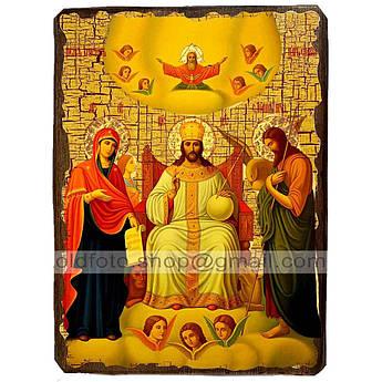 Икона Царь Славы Спаситель, Господь Вседержитель ,икона на дереве 130х170 мм