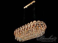 Хрустальная люстра овальной формы для гостиной&QS6608/800x350BHR
