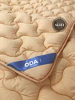 Одеяло двуспальное ODA 4 сезона 175х210 см.  Подвійна ковдра, наповнювач холлофайбер   Одеяло ОДА все сезоны