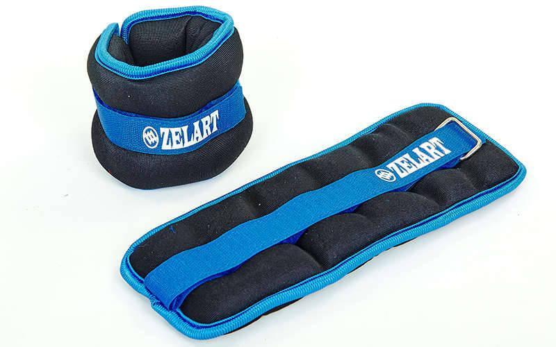 Утяжелители-манжеты для рук и ног Zelart Sport нейлон 2 по 1,5 кг