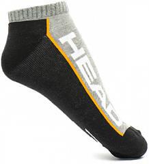 Носки Head performanse Sneaker 2P  черный,серый