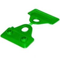 Клипса полимерная *CLIPS RETE 50* зеленая (12 шт)