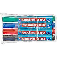 Маркер для флипчарта Набор маркеров для флипчарта Edding Е-380 4 шт.
