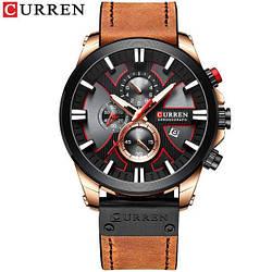 Часы наручные Curren 8346 Brown-Cuprum-Black