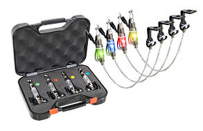 Набор свингеров на цепочке Energofish Carp Expert CXP LED Chain Swinger Set с подключением 4 шт (7709090
