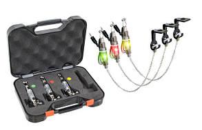 Набор свингеров на цепочке Energofish Carp Expert CXP LED Chain Swinger Set с подключением 3 шт (7709090)