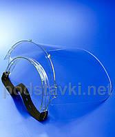 Защитный щиток для стоматолога, PETG 2, габариты (ШхВхГ) 260х210х150 мм (ZS-09)