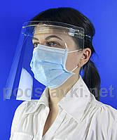 Защитный щиток для медиков, PETG 2, габариты (ШхВхГ) 260х210х150 мм (PR-225)