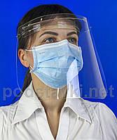 Защитный щиток для лица, PETG 2, габариты (ШхВхГ) 260х210х150 мм (ZS-01)
