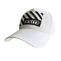 Белая кепка Sport Line - №5880