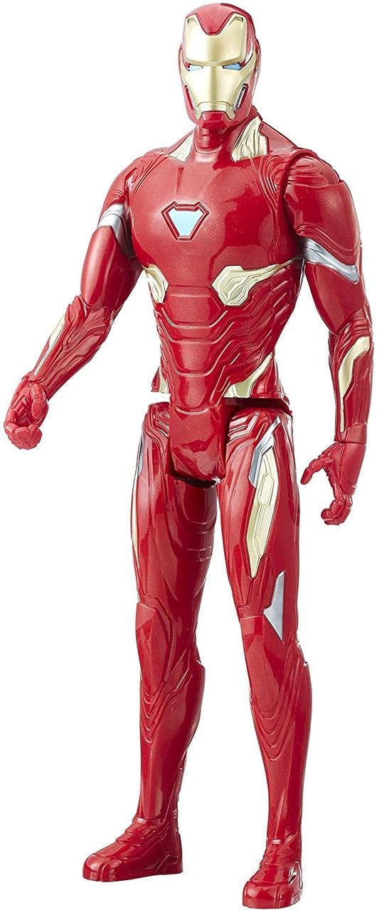 Игрушка-фигурка Hasbro Железный Человек, Марвел, 30 см - Iron Man, Marvel, Titan Hero Series (E1410)