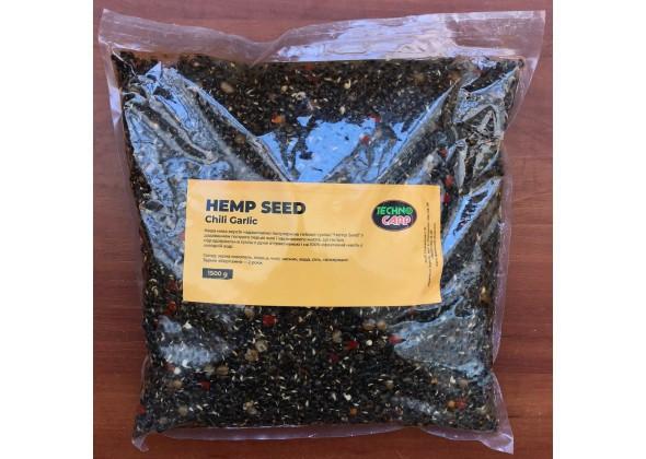 Hemp Seed + Chili, Garlic готовая конопля+перец, чеснок 1,5кг