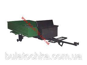 Прицеп для мотоблока (1,3 х 1,75 м) под жигулевские ступицы (без покрышек и колес), фото 3