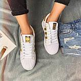 Кроссовки женские Adidas Superstar 3059 ⏩ [ 37 ] последний размер, фото 2