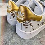 Кроссовки женские Adidas Superstar 3059 ⏩ [ 37 ] последний размер, фото 3