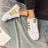 Кроссовки женские Adidas Superstar 3059 ⏩ [ 37 ] последний размер, фото 4