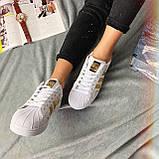 Кроссовки женские Adidas Superstar 3059 ⏩ [ 37 ] последний размер, фото 5