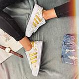 Кроссовки женские Adidas Superstar 3059 ⏩ [ 37 ] последний размер, фото 6