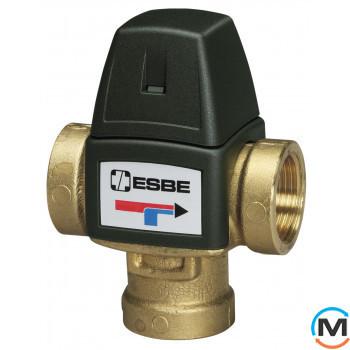 """Esbe VTA552 G 1"""" DN20 50-75°С kvs 3,2 термостатический смесительный клапан"""