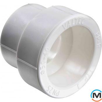 Полипропиленовая муфта Valtec переходнная PPR 50-25 мм