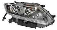 Фара правая Nissan X-Trail III (T32) (дорестайл) / Rogue II 2014 - 2017, электр., без корректора + LED, (Depo, 115-1136R-LEMN2) OE 260104CC0C - шт.
