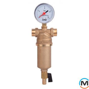 """Самопромывной фильтр для воды Icma 1""""х11/4"""