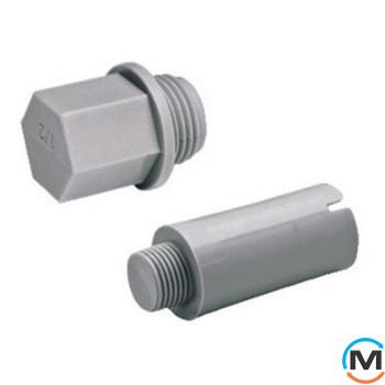 Полипропиленовая заглушка Berkeplastik резьбовая 25 мм