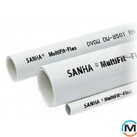 Труба Sanha MultiFit-Flex металлопластиковая твердая 50х4.0