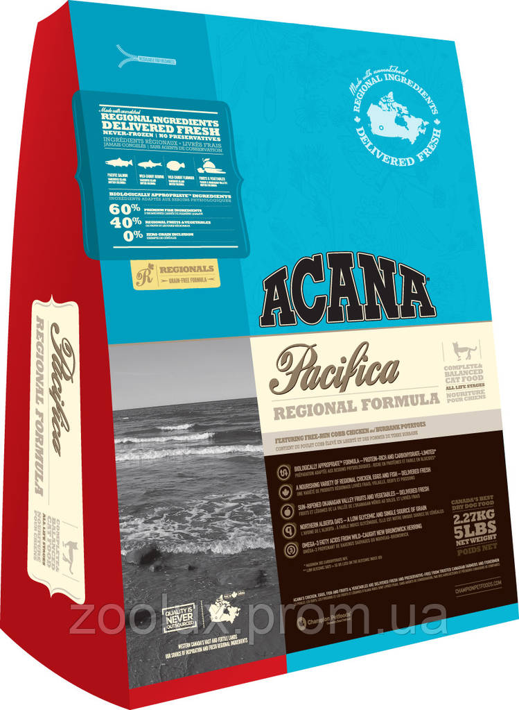 Acana Pacifica Cat 340 гр.