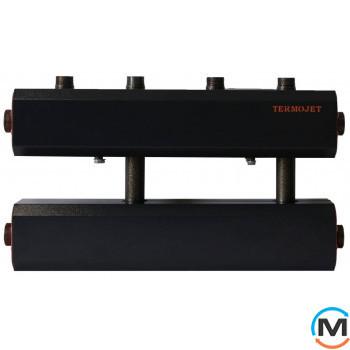 Коллектор Termojet Dn50 в кожухе 300 мм межосевое, 2 выхода вверх Dn32
