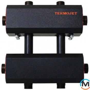 Коллектор комбинированный Termojet Dn32, 4 выхода вверх/ вниз Dn25