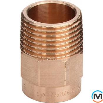 "Ниппель Ø10 х 1/2"" З (бронзовый) -112400 Viega GmbH 94243g"