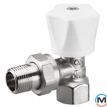 Клапан Oventrop ручной НR Ду 15 (угловой)