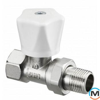 Клапан Oventrop ручной НRV Ду 15 (прямой)