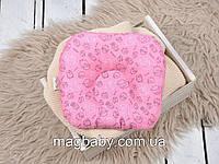 Подушка для новорожденных Классик, барашки