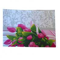 Полотенце вафельное 40х70см, Туркменистан, цвета в ассортименте