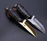 Нож нескладной. Охотничий нож JGF. Нож выжиания. Туристический, тактический нож., фото 2