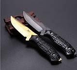Нож нескладной. Охотничий нож JGF. Нож выжиания. Туристический, тактический нож., фото 3