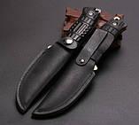 Нож нескладной. Охотничий нож JGF. Нож выжиания. Туристический, тактический нож., фото 4