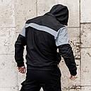"""Анорак мужской непромокаемый с рефлективными вставки """"Drax"""" от бренда """"ТУР"""", фото 4"""