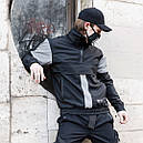 """Анорак мужской непромокаемый с рефлективными вставки """"Drax"""" от бренда """"ТУР"""", фото 5"""