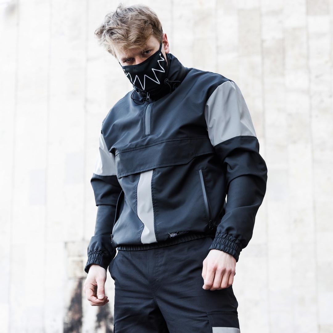 Анорак мужской непромокаемый с рефлективными вставки Drax от бренда ТУР