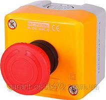 Кнопковий пост e.cs.stand.xal.d.164, стоп, кнопка-грибок