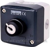 Кнопковий пост e.cs.stand.xal.d.144секторный перемикач 0-1 з ключем