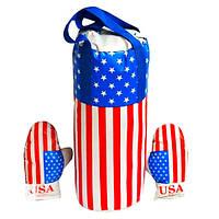 """Боксерський набір """"Америка"""" великий L-USA"""